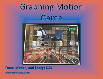 6.8d Graphing Motion Game