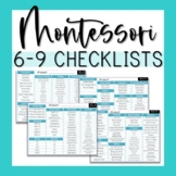 6-9 Montessori Math & ELA Checklists