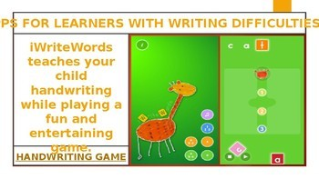 6 APPS FOR LEARNERS WITH WRITING DIFFICULTIES