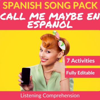 Call Me Maybe in Spanish: Song to Practice Listening Compr