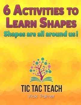 6 Activities to Learn Shapes