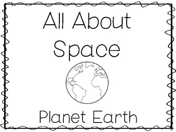 6 Earth Preschool Trace the Word and Color Worksheets and Activities.