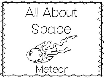 6 Meteor Preschool Trace The Word And Color Worksheets And Activities