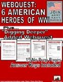 WWI: 6 American Heroes: History Channel WebQuest
