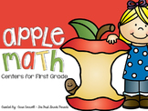 6 Apple Math Centers for First Grade