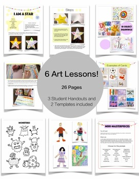 6 Art Lessons to Start the Year Right!