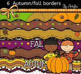 6 Autumn/ Fall borders