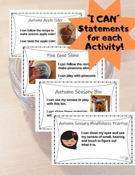 6 Autumn Sensory Activities! For the Inclusive Classroom
