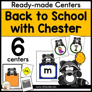 Centers: Back to School with Chester