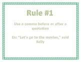 6 Basic Comma Rules