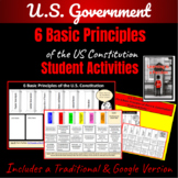 6 Basic Principles of the Constitution  ~Student Activity~