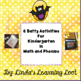 6 Batty Activities for Math and Phonics in Kindergarten