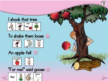 6 Big Apples - Animated Step-by-Step Poem - SymbolStix