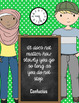 6 Blackboard-Themed Growth Mindset Posters