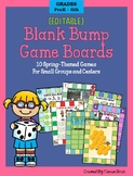 10 Bump Games (Editable & Low Prep) for SPRING - For Small
