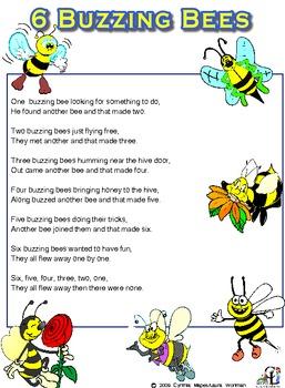 6 Buzzing Bees