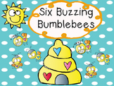 6 Buzzing Bumblebees Rhyme Freebie