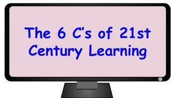 6 C's of 21st Century learning skills