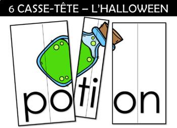 6 CASSE-TÊTE – L'HALLOWEEN