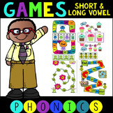 6 CVC and CVCE Games for Literacy Centers or Small Group