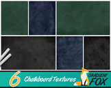 6 Chalkboard Backgrounds