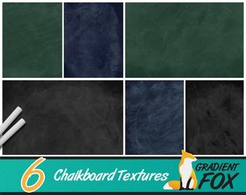 6 Chalkboard Backgrounds