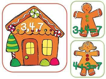 7 Christmas Math Centers aligned with Common Core Standards