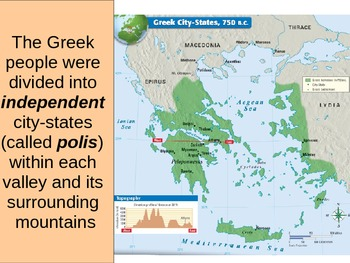 UNIT 2 LESSON 1. City-States of Greece POWERPOINT