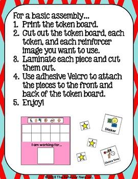 6 Color Token Board Bundle - 10 Token