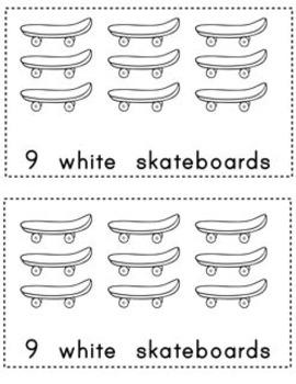 6 Color Word Books (Easy PreA, A Readers)