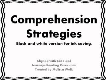 6 Comprehension Strategies Pack