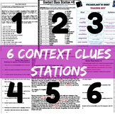 6 Context Clues Stations