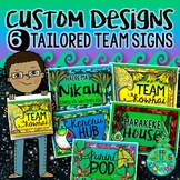 6 Custom Team Signs {to match your school theme or syndica