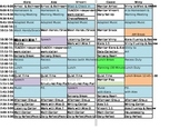 6 Day Rotation Schedule for students and paras