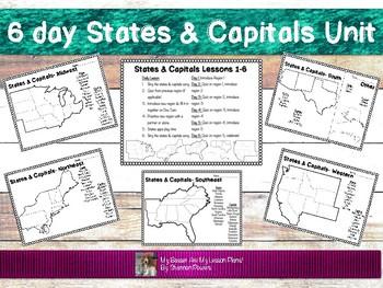 6 Day States & Capital Unit