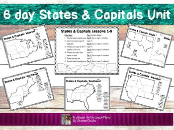 6 Day States & Capital Unit