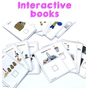 6 Descriptive Core Words Books for Teaching AAC Users Emergent Communicators