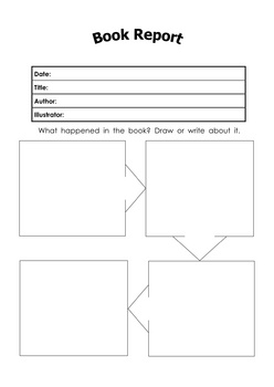 6 Different Book Report Templates