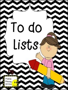 """6 Different """"To Do"""" Lists"""