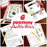 6 Diphthong Activities For AU, AW, OI, OU, OU, OW, OO & EW