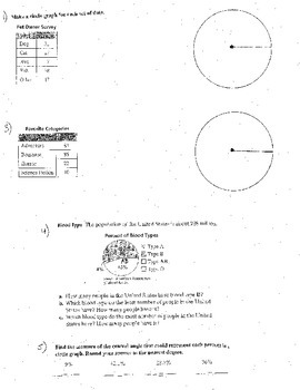 6+ Double Sided Histograms Bar Graphs Box & Whiskers Arcs Sectors Area Circles