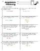 6.EE.2  Algebraic Thinking