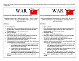 6.EE.2 - Evaluating Algebraic Expressions - Game of WAR (Math Game)