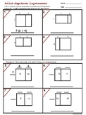 6.EE.3 Area Algebraic Expressions