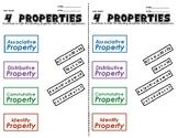6.EE 4 Properties Exit Ticket