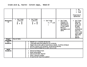 6.EE.A.2 Lesson Plans