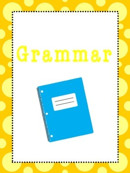 6 ELA Subjects Binder Covers and Side Labels. KDG-High School. Homeschool.