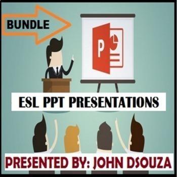 ESL PRESENTATIONS: BUNDLE