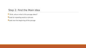 6 Easy Steps for Finding Main Idea and Detail