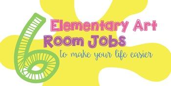 6 Elementary Art Room Jobs for Classroom Management
